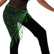 Belly Dancer Colorful Net Hip Scarf | MASRI MESH