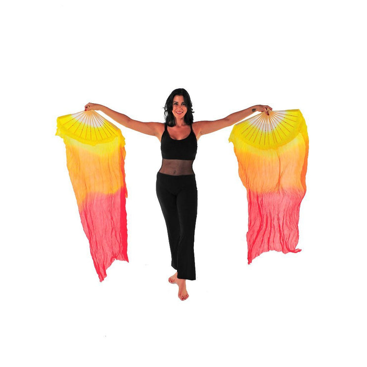 Belly Dancer Fan Veil | SUNSET RAQS