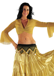 Belly Dancer Glitter Ice Top