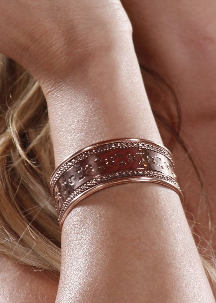 Copper Arm Band | GRECALO