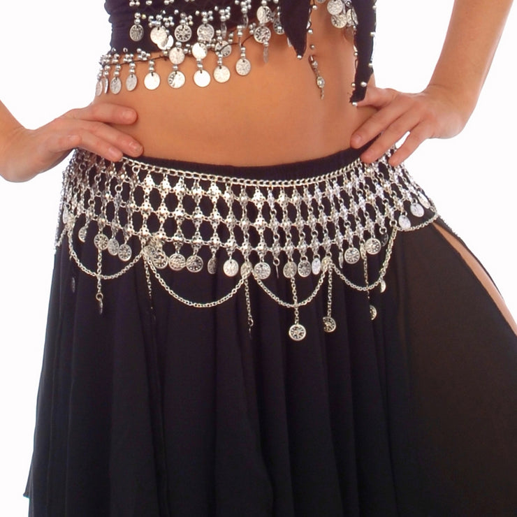 Belly Dance Coin Belt | CLEOPATRA II