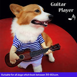 Guitar Player dog Halloween Costume