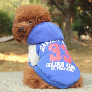 MU 1313 Hoodie for Small Dogs