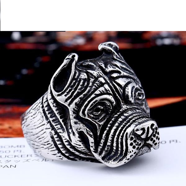 Stainless Steel Pit Bull Ring