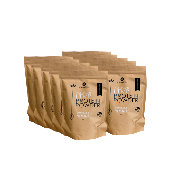 Hemp Protein Powder 500g x 10 packets