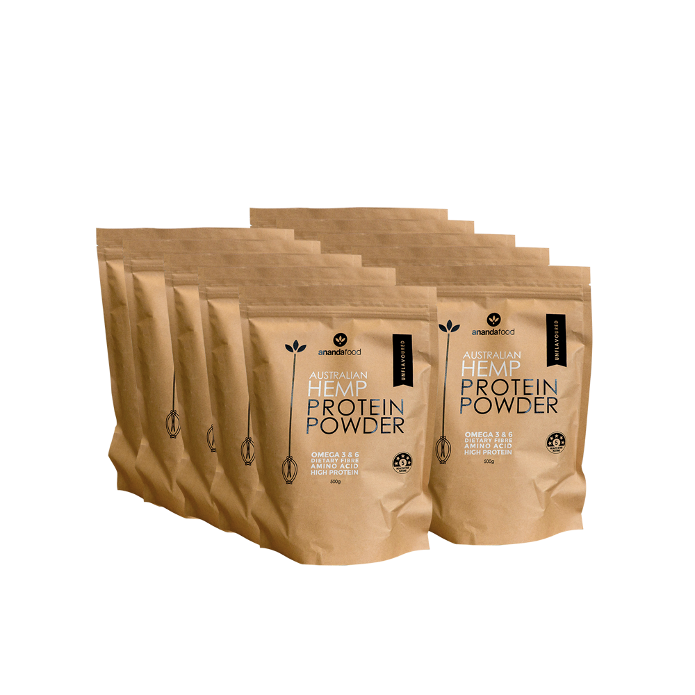 Wholesale - Hemp Protein Powder 500g x 10 packets