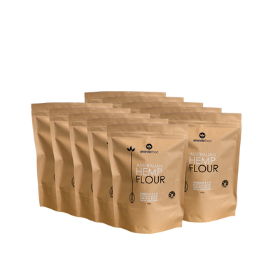 Wholesale - Hemp Flour 500g x 10 packets