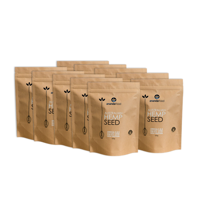 Hemp Seed 500g x 10 packets
