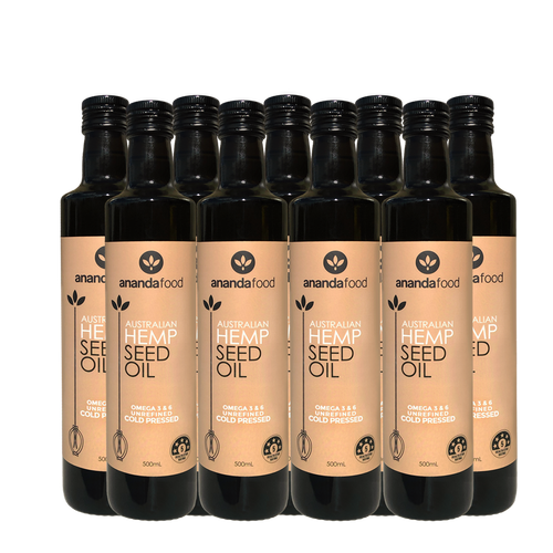 Hemp Seed Oil 500ml x 9 bottles