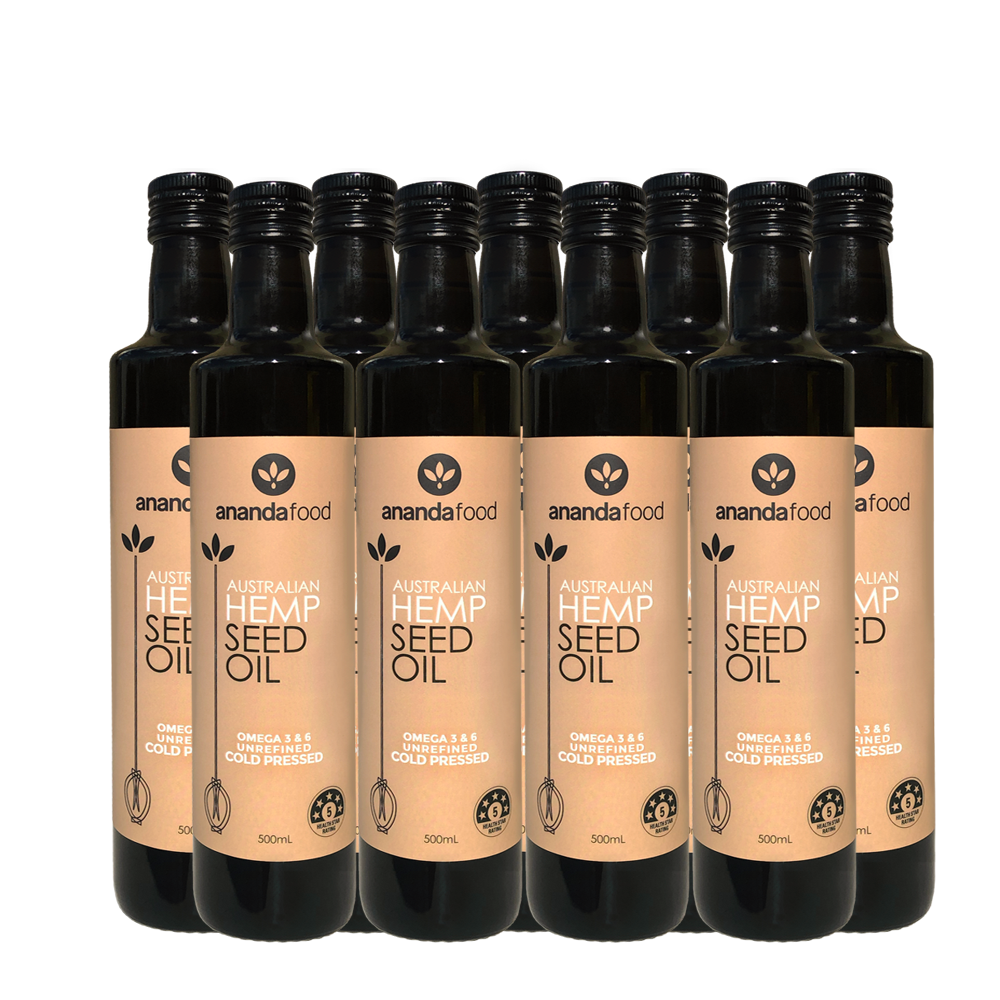Wholesale - Hemp Seed Oil 250ml x 9 bottles