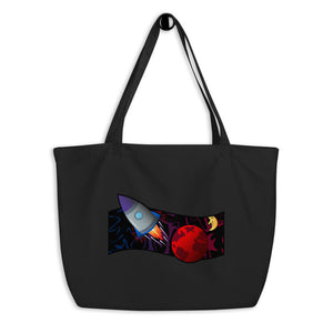 """The Red Earth"" Large Organic Tote"