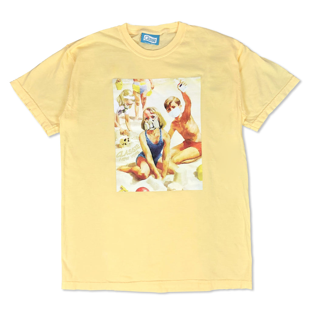 """Coronacation"" Image Tee (Butter)"