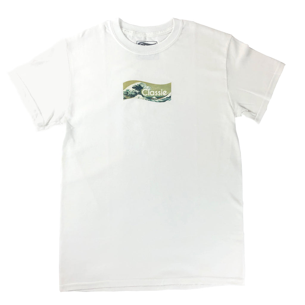 The Great Wave off Kanagawa - Wave Logo Tee