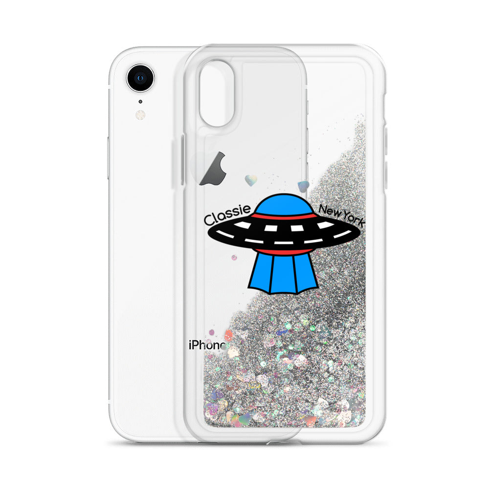 """Sparkling Saucer""  iPhone Case"