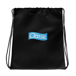 Classic Blue - Wave Logo Drawstring Bag (2 Colors)