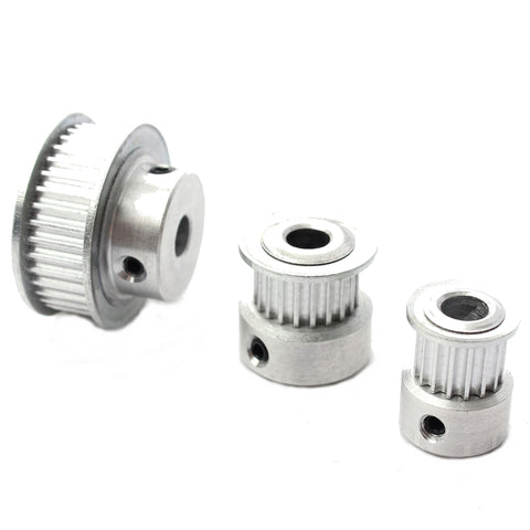 16/20/36T GT2 Aluminum Timing Pulley