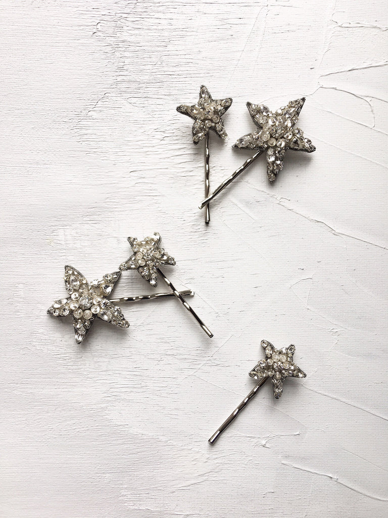 Falling Stars Hair Pins (Set of 5)