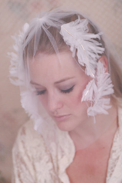 Laurel Blusher Veil