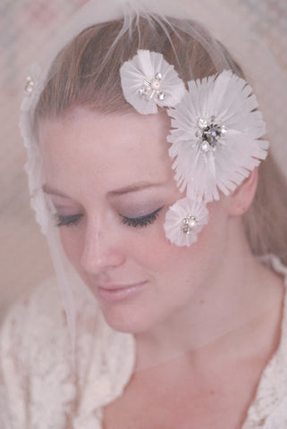 Perfectly Poppy Blusher Veil