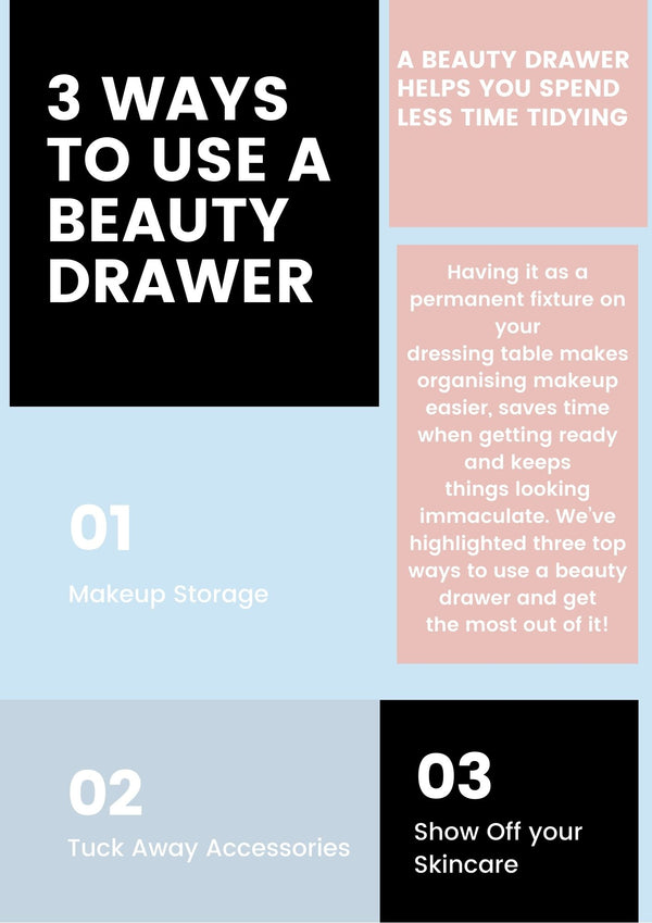 3 Ways to Use a Beauty Drawer