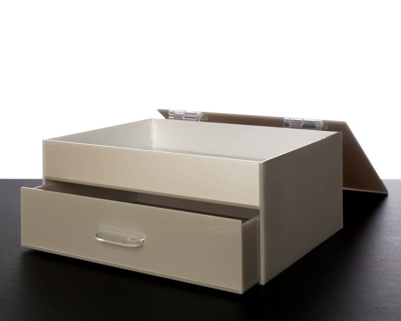 Flip Lid With Deep Drawer