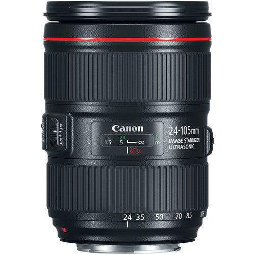 Canon EF 24-105mm f/4.0 L IS USM II Lens