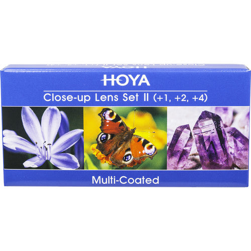Hoya 52mm Close-Up Filter Set (+1 +2 +4)