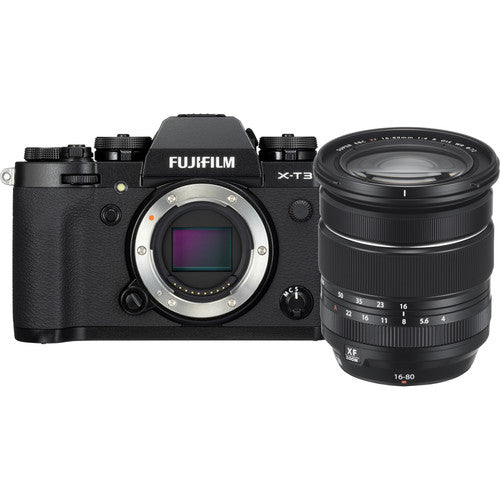 Fujifilm X-T3 with XF 16-80mm f/4 Kit