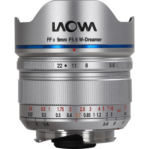 Venus Optics Laowa 9mm f/5.6 FF RL Lens (Silver)