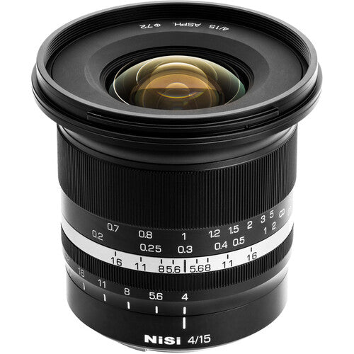 NiSi 15mm f/4 Sunstar Super Wide Angle Full Frame ASPH Lens