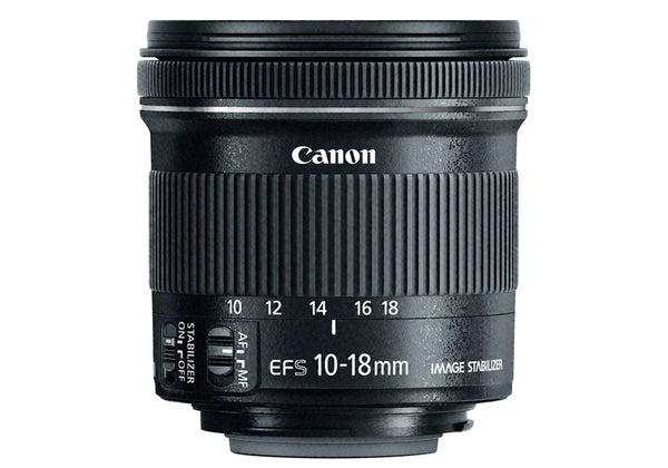 Canon EF-S 10-18mm f/4.5-5.6 IS STM Lens (White Box)