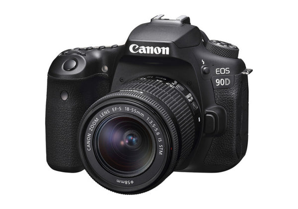 Canon EOS 90D Camera with 18-55mm Lens Kit