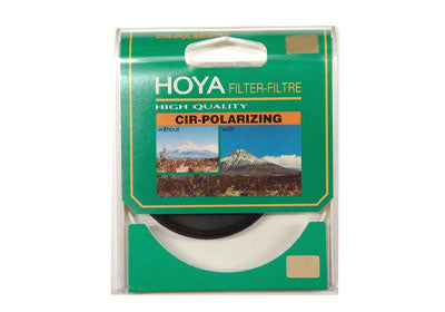 Hoya 55mm PL-C Green Series filter