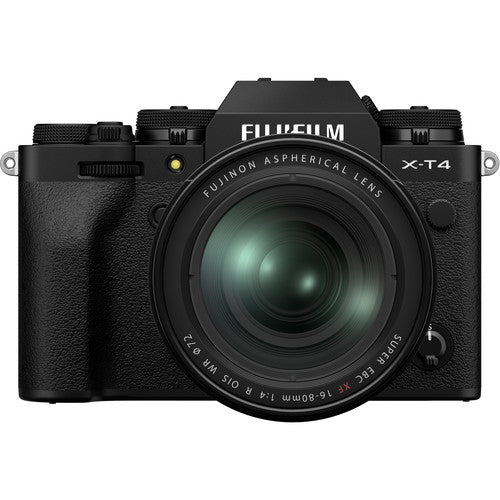 Fujifilm X-T4 with 16-80mm Lens Kit