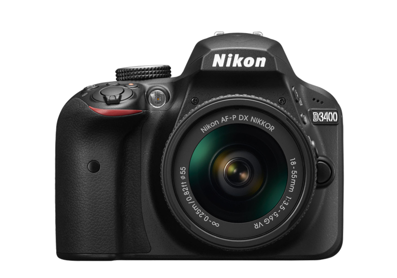 Nikon D3400 Kit with AF-P18-55mm VR Lens Kit
