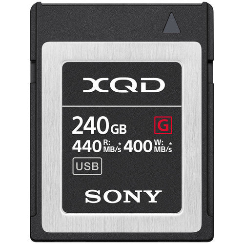 Sony 240GB G Series XQD Memory Card