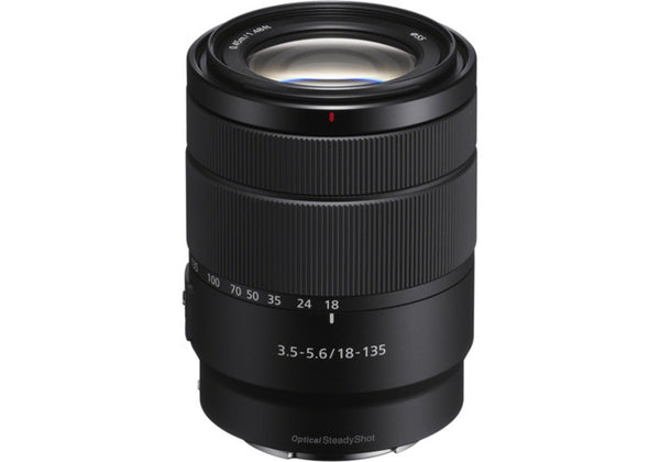 Sony E 18-135mm f/3.5-5.6 OSS Lens (White Box)