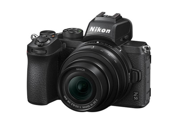 Nikon Z50 with NIKKOR Z DX 16-50mm Kit