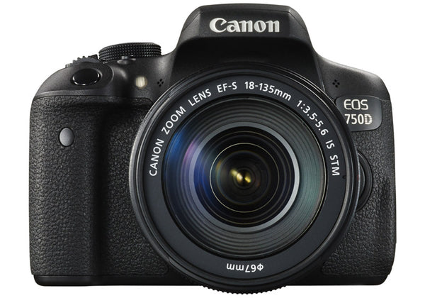 Canon EOS 750D with EF-S 18-135mm f/3.5-5.6 IS STM Kit