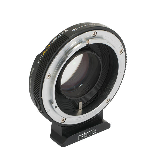 Metabones Canon FD Lens to Micro Four Thirds Camera Speed Booster ULTRA 0.71x