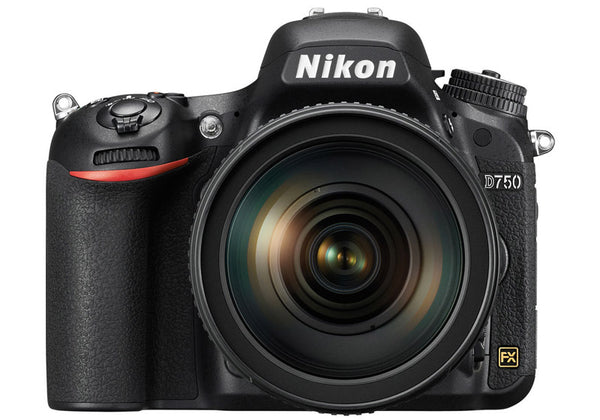 Nikon D750 with 24-120mm VR Lens Kit