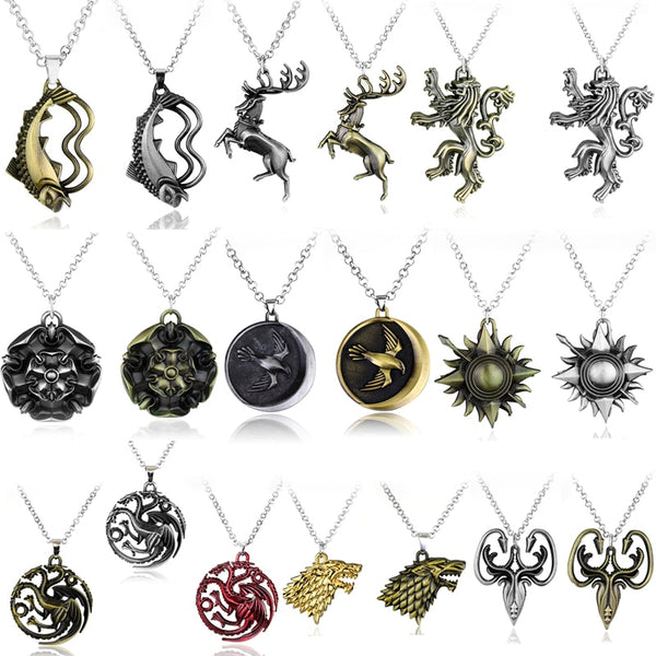 Limited Edition GOT Necklaces (FREE for a limited time)