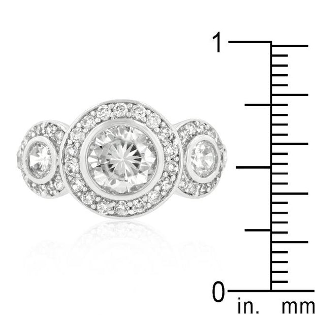 Fitzgerald Cubic Zirconia Ring