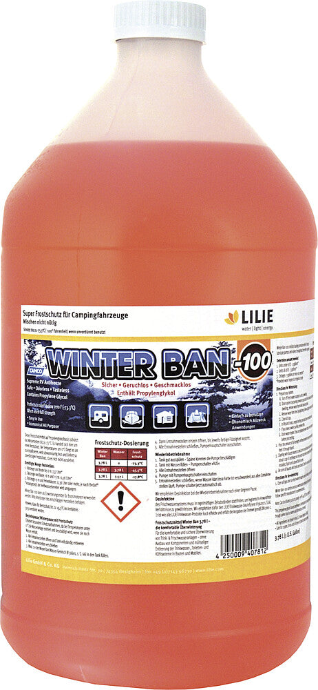 "Antifrizas ""Winter Ban"" 3,78 l"