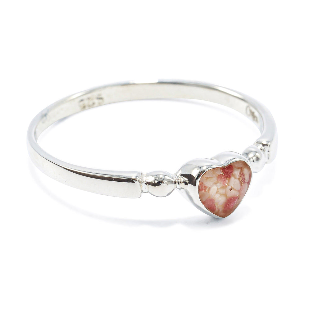 Heart Ring, Sterling Silver - BS475