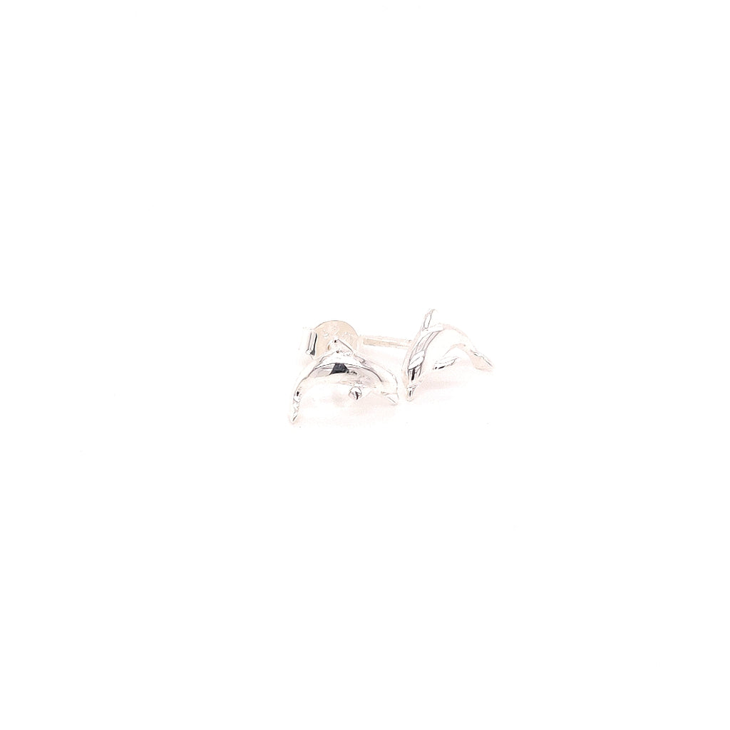 Crisson Original Sterling Silver Dolphin Studs - HPS1651