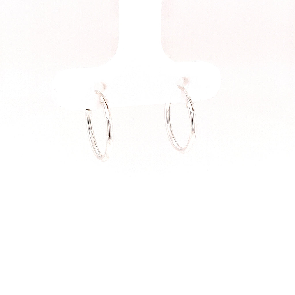 Crisson Original 14mm Sterling Silver Hoops - HPS1690 14mm