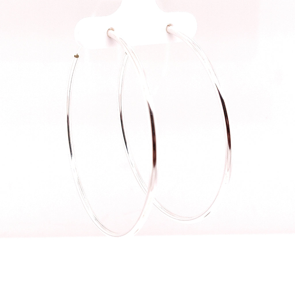 Crisson Original 55mm Sterling Silver Hoops - HPS1695 55mm