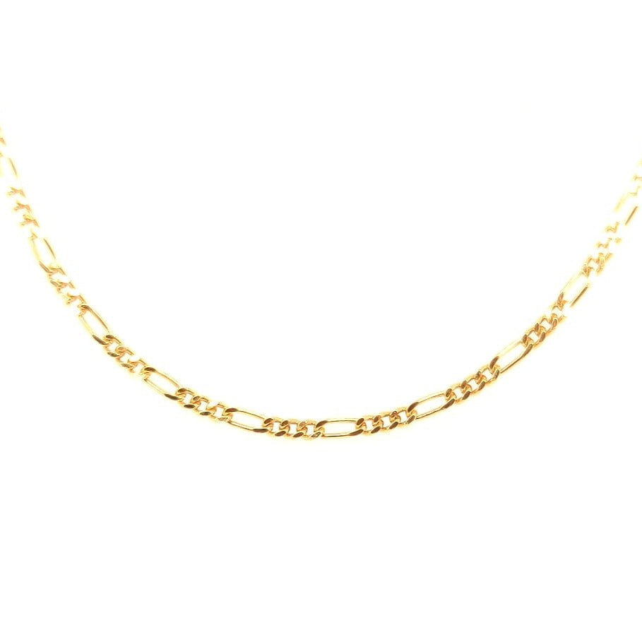 Crisson Original 16 Inch 14 Karat Yellow Gold 'Figaro' Chain - R119 16""