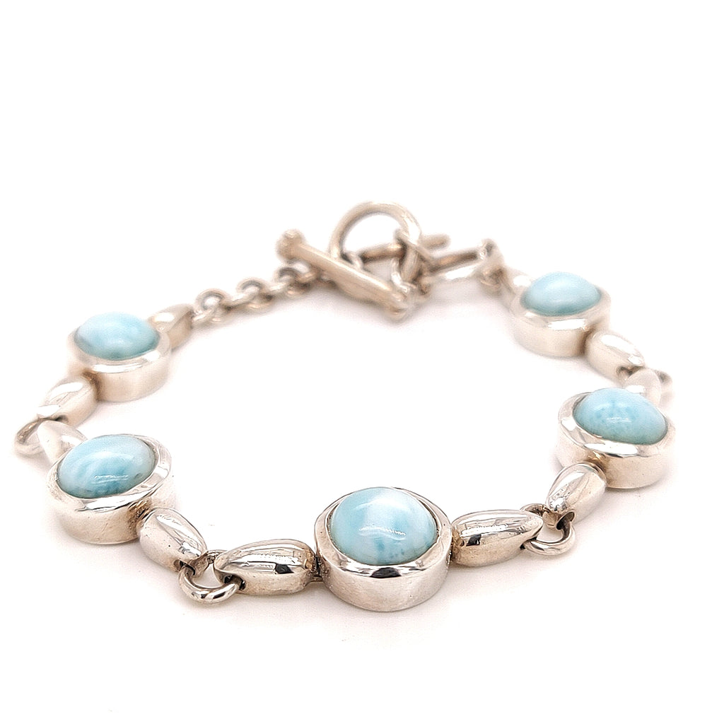 Marah Lago 'Liquido' Link Bracelet, Sterling Silver and Larimar - TB1952